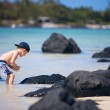 Boy on vacation — Stock Photo #4730022