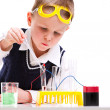 Young scientist - Stock Photo