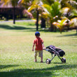 Royalty-Free Stock Photo: Young golfer