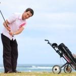 Golf player — Stock Photo #4730088