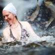Swimming with fish — Stock Photo #4730121