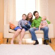 Family at Home — Stock Photo #4730126