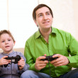 Video Games Playing - Foto Stock