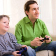 Video Games Playing — Stock Photo