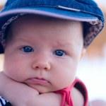 Summer Baby Girl — Stock Photo
