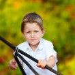 Boy outdoors — Stock Photo #4730322