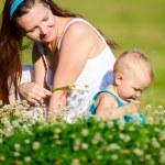 Family fun outdoors — Stock Photo #4730326