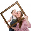 Mother and son portrait — Stock Photo #4730327