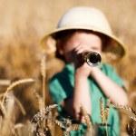 Nature explorer — Stock Photo #4730428