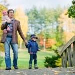Autumn family — Stock Photo #4730510