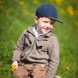 Boy With Dandelion — Stock Photo #4730604