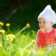 Summer baby girl — Stock Photo #4730611