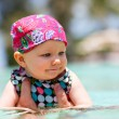 Swimming baby — Stock Photo #4730645