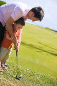 Teaching Golf — Stock Photo
