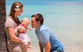 Familienurlaub — Stockfoto