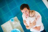 Happy fatherhood — Stock Photo