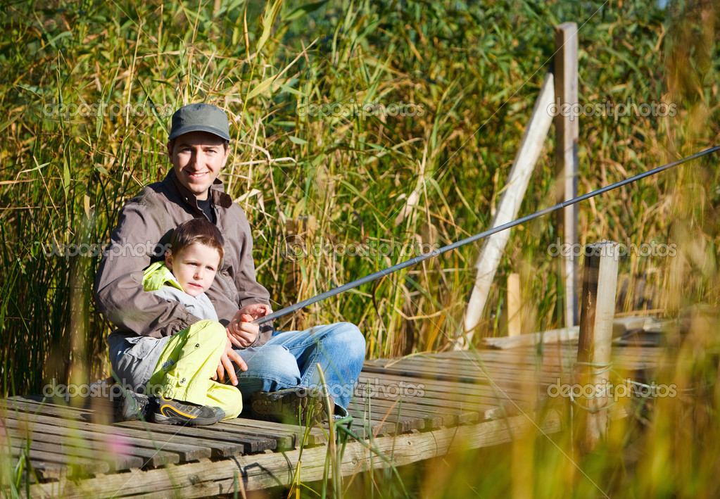хобби рыбалка всей семьи