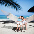 Honeymoon - Stockfoto