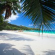 Stunning tropical beach at Seychelles - Stock Photo