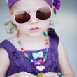 Adorable toddler girl — Stock Photo #4918952