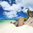 Anse Source d'Argent beach — Stock Photo