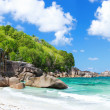 Tropical coast panorama — Stock Photo