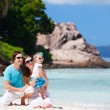 Young family on vacation — Stock Photo #5253197
