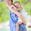 Mother and daughter portrait — Stock Photo #5375299