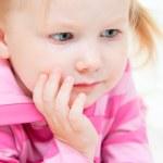 Adorable little girl portrait — Stock Photo #5375545