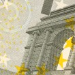Stock Photo: Uncirculated 5 Euro Banknote Close up