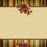 Christmas greeting card — Stock Photo #4437733