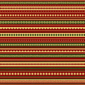 Christmas and New Year colored seamless pattern — Stock Photo