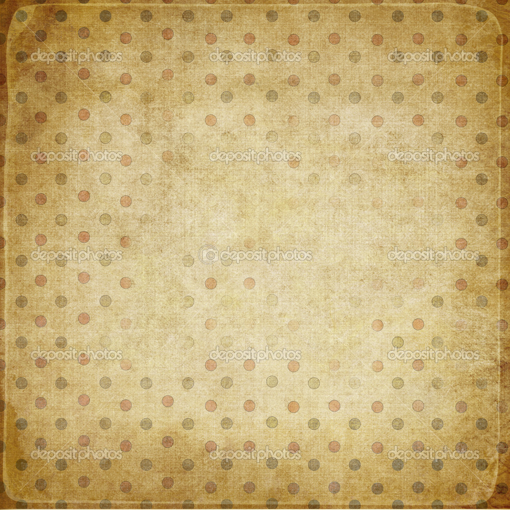 Vintage shabby background with dots — Stock Photo #4437771