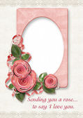 Greeting Card to Valentine`s day — Stock Photo