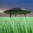 Flying saucer — Stock Photo