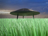 Flying saucer — Stockfoto