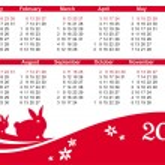 2011 calendar — Stock Vector #4012527