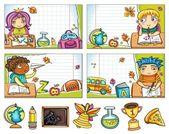 Back to school series! — Stock Vector