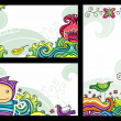Floral cpmpositions 1 — Stock Vector #5063729