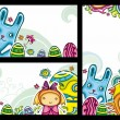 Royalty-Free Stock Vector Image: Easter banners 2