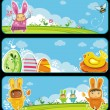 Easter banners — Stock Vector #5289082