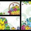Easter banners 2 — Stock Vector #5289103