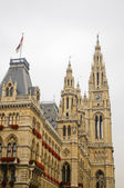 Tower of Rathaus — Stock Photo
