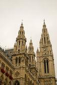 Rathaus hodiny — Stock fotografie