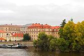 Prague in autumn — Stock Photo