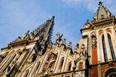 Římsko-katolická katedrála svatého Mikuláše v Kyjevě, Ukrajina — Stock fotografie