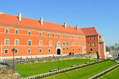 Castle in Warsaw — Stock Photo