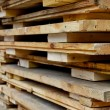 Stacked Pallets — Stock Photo