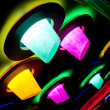 Abstract disco club illumination — Stock Photo