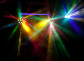Abstract disco lights — Stock Photo